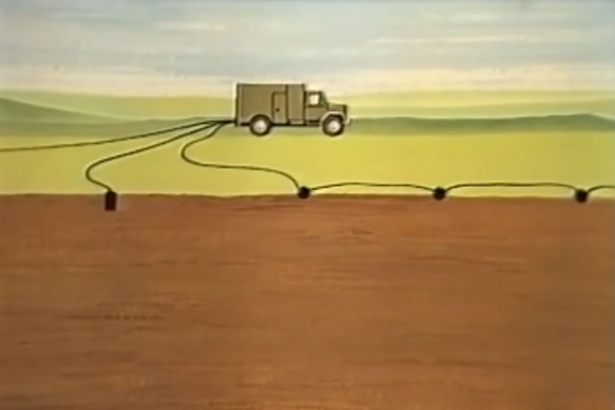 Prinzip der seismischen Messmethode