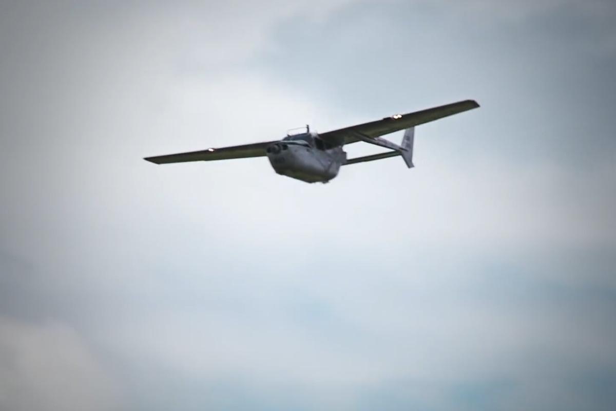 Flugzeug Vermessung