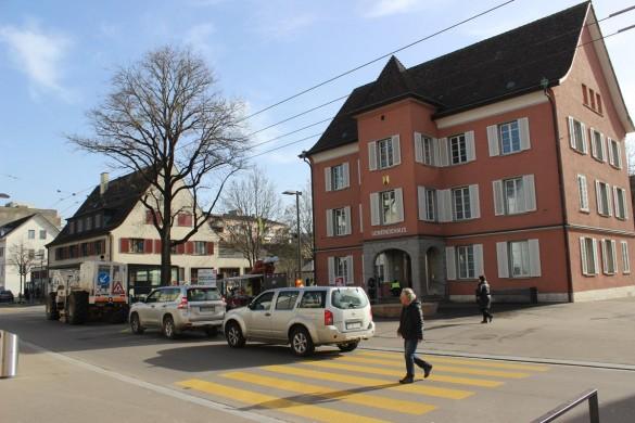 Seismik Neuhausen am Rheinfall Gemeindehaus