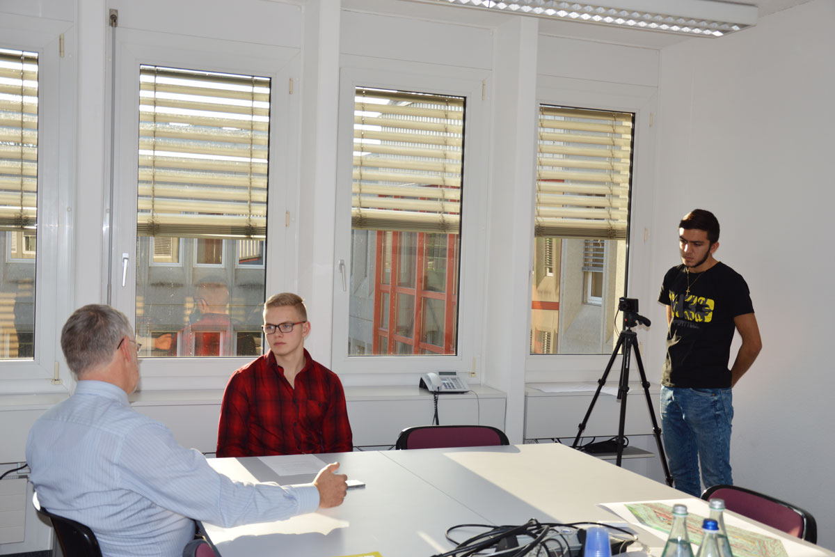 Video Interview Gymnasium Muttenz