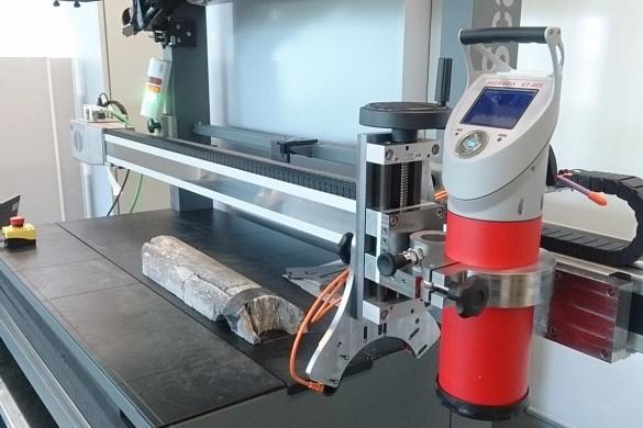 3D-Scanner für Bohrkerne