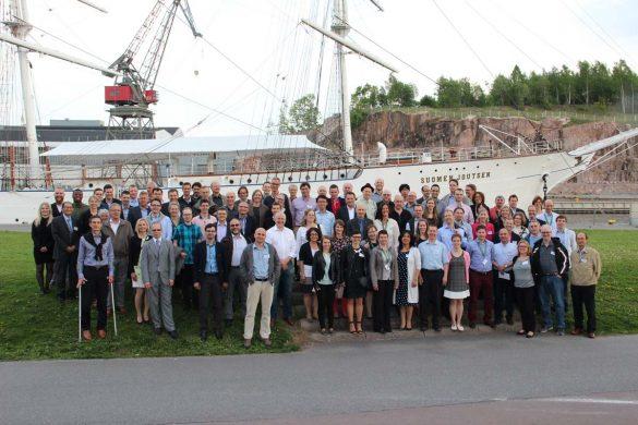 Gruppenfoto DOPAS-Seminar 2016 in Turku (Finnland). Bild: Posiva
