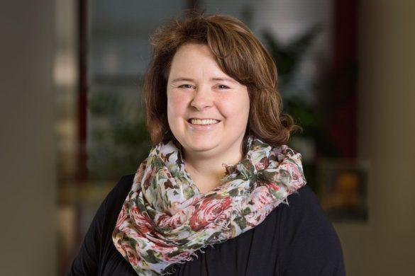 Besucherkoordinatorin Renate Spitznagel, Nagra. Bild: Maria Schmid