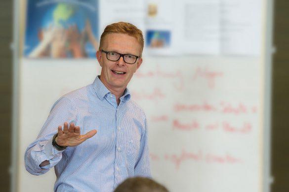 Dr. Tim Vietor, Bereichsleiter Sicherheit, Geologie & Radioaktive Materialien bei der Nagra