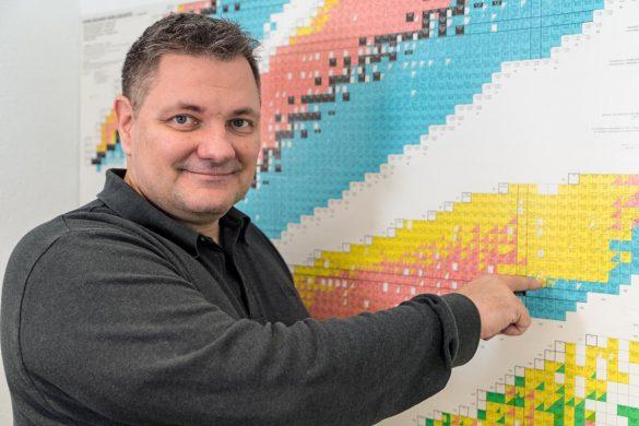 Ben Volmert, Ressortleiter Inventar & Logistik bei der Nagra