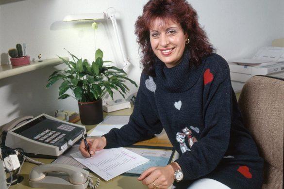 Listen sorgen dafür, dass Gerda Wernle stets den Durchblick behielt. Bild: Beat Müller